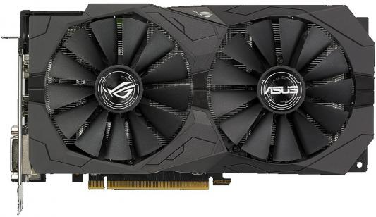 Видеокарта ASUS Radeon RX 570 ROG-STRIX-RX570-O4G-GAMING PCI-E 4096Mb 256 Bit Retail (ROG-STRIX-RX570-O4G-GAMING) computer vga gpu cooler rog strix rx470 dual rx480 graphics card fan for asus rog strix rx470 o4g gaming video cards cooling