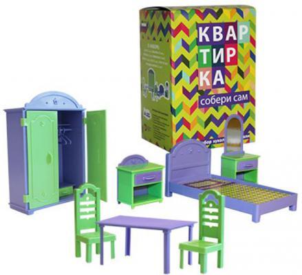 Набор мебели Пластмастер Квартирка 22180 пластмастер игрушечный набор монтажник