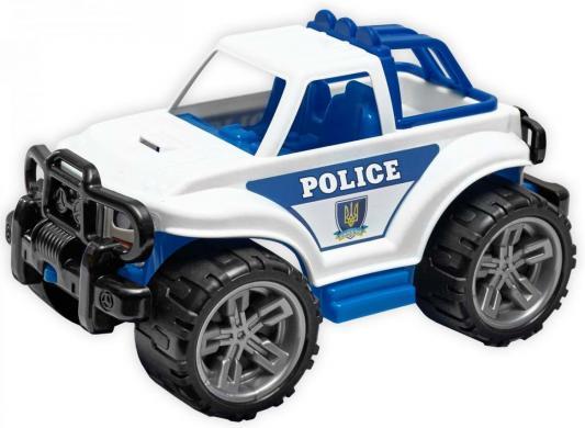 Машина ТехноК Внедорожник - Полиция белый 35 см машины wader автомобиль констрак полиция