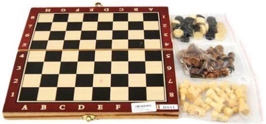 Настольная игра Shantou Gepai логическая Шахматы шашки D511 набор настольных игр madon шахматы шашки кинг 34