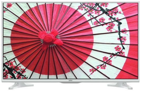 Телевизор Akai LES-32A65W белый телевизор akai les 28a67w белый