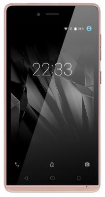 """Смартфон Micromax Q354 шампань 5"""" 8 Гб Wi-Fi GPS 3G"""