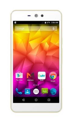 "Смартфон Micromax Q340 белый 5"" 8 Гб Wi-Fi GPS 3G"