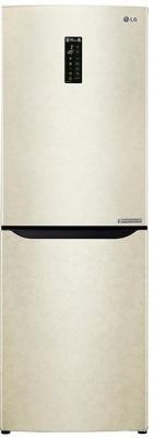 Холодильник LG GA-B389SECZ бежевый холодильник lg ga b429smcz silver