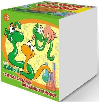 Купить Набор для опытов GOOD FUN Цветные полимерные червяки зеленый GF002G, GOOD FUN, унисекс, Исследования, опыты и эксперименты