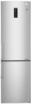 Холодильник LG GA-B499YAQZ серебристый холодильник lg ga b499yaqz