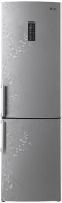 Холодильник LG GA-B499ZVSP серебристый led панели lg 32se3b b