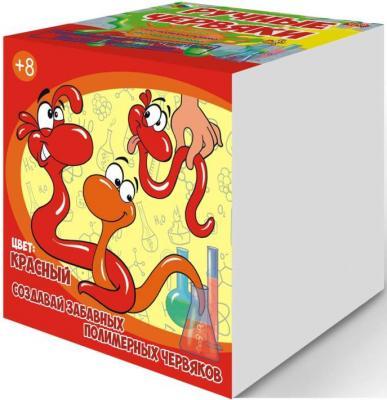 Набор для опытов GOOD FUN Цветные полимерные червяки красный GF002R