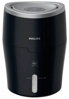 Увлажнитель воздуха Philips HU4813/11 чёрный серебристый от 123.ru