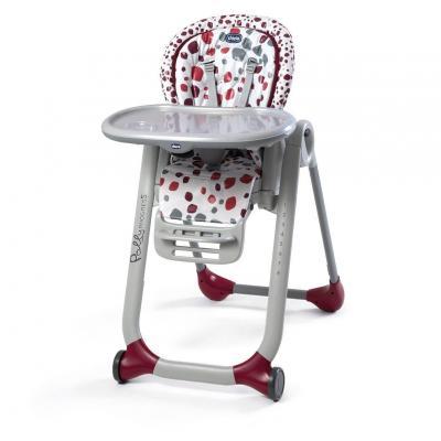 Стульчик для кормления Chicco Polly Progres5 (cherry) стульчик для кормления chicco chicco стульчик для кормления polly progres5 cherry