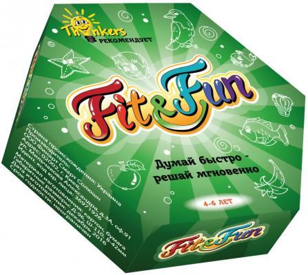 Купить Настольная игра THINKERS логическая Fit and Fun, Размер упаковки: 5 ? 11 ? 9.5 см., Развивающие настольные игры
