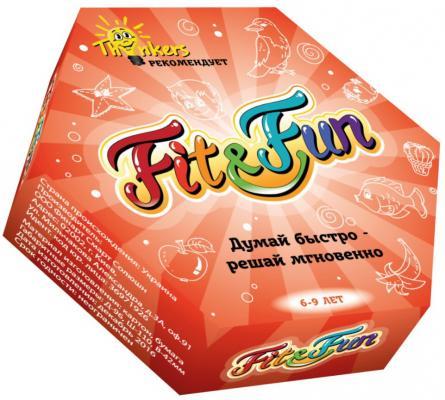 Купить Настольная игра THINKERS логическая Fit and Fun, Размер упаковки: 5 х 11 х 9.5 см., Развивающие настольные игры