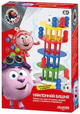 Настольная игра Академия развивающих игр развивающая Наклонная башня 8131