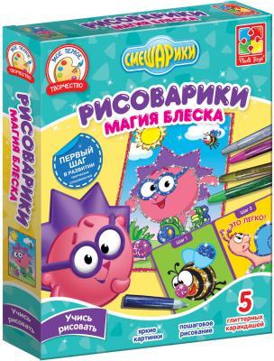 Настольная игра Vladi toys развивающая Магия блеска Ёжик VT4801-10