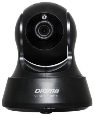 Камера IP Digma DiVision 200 CMOS 2.8 мм 1280 x 720 H.264 Wi-Fi черный камера ip digma division 201 cmos 2 8 мм 1280 x 720 wi fi черный