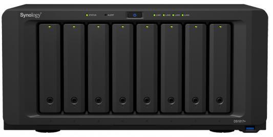 все цены на Сетевое хранилище Synology DS1817+(8GB) 8x2,5 / 3,5