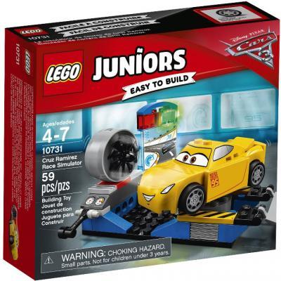 Конструктор LEGO Гоночный тренажер Крус Рамирес 10731 59 элементов полесье гоночный автомобиль торнадо цвет желтый