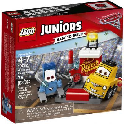 Конструктор LEGO Пит-стоп Гвидо и Луиджи 10732 75 элементов