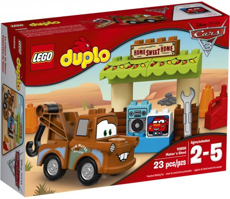 "Конструктор LEGO ""Duplo"" - Гараж Мэтра 23 элемента 10856"
