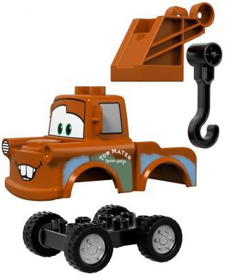 "Конструктор LEGO ""Duplo"" - Гараж Мэтра 23 элемента 10856 от 123.ru"