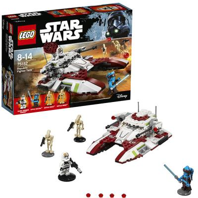 Конструктор LEGO Star Wars: Боевой танк Республики 305 элементов конструктор lego star wars боевой набор планеты татуин 75198