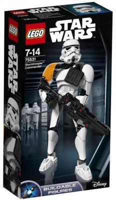 """Конструктор LEGO """"Star Wars"""" - Командир штурмовиков 100 элементов 75531"""