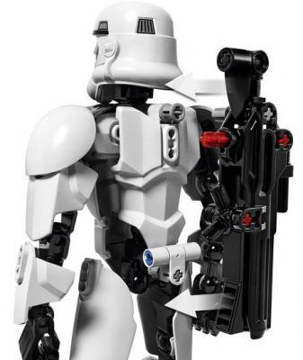 """Конструктор LEGO """"Star Wars"""" - Командир штурмовиков 100 элементов 75531 от 123.ru"""