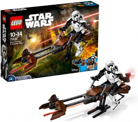 Конструктор Lego Star Wars: Штурмовик-разведчик на спидере™ 452 элемента 75532