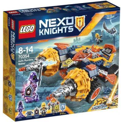 "Конструктор LEGO ""Nexo Knights"" - Бур-машина Акселя 393 элемента 70354"