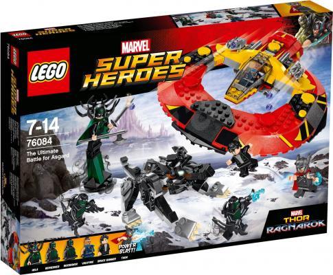 Конструктор LEGO Решающая битва за Асгард 76084 400 элементов