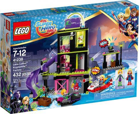 Конструктор LEGO Фабрика криптомитов Лены Лютор 41238 432 элемента