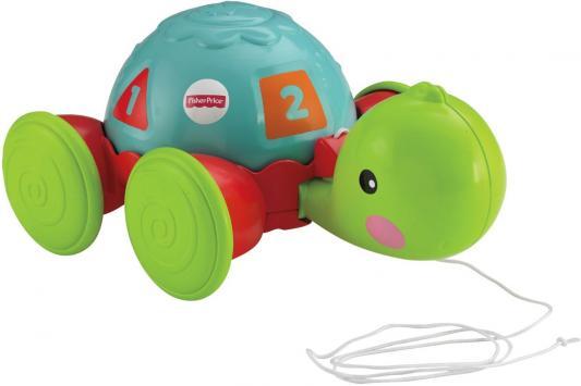 Развивающая игрушка Fisher Price Обучающая черепашка на колесиках Y8652 mattel fisher price y8652 фишер прайс обучающая черепашка на колесиках