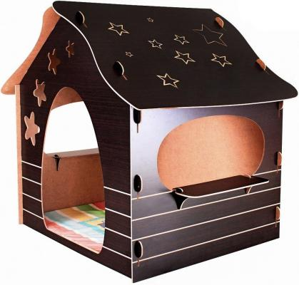 все цены на Игровой домик Mouse House Звезды, сборный ЭКО-МДФ 060-5 онлайн