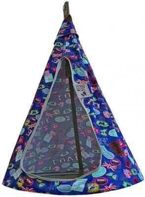 Гамак MOUSE HOUSE Бирки синие диаметр 80 см  80-15