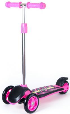 Самокат RT MIDI ORION 12*/10* розовый самокат rt midi orion red 164в6 со светящимися колесами