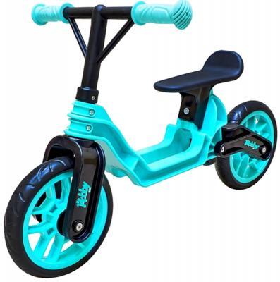 Беговел RT Hobby bike Magestic 10 голубой беговел rt hobby bike magestic 10 красно черный