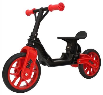 """Беговел RT Hobby bike Magestic 10"""" черно-красный hobby bike hobby bike rt yellow aluminium"""