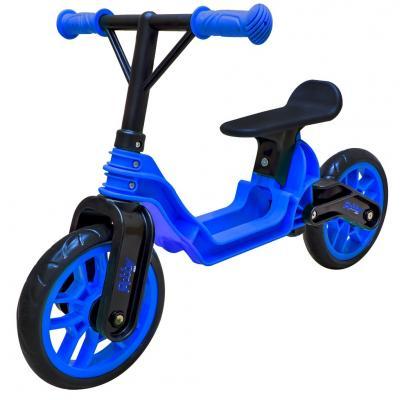 Беговел RT Hobby bike Magestic 10 черно-синий беговел rt hobby bike magestic 10 красно черный