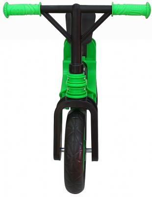 Беговел RT Hobby bike Magestic 10 зелено-черный hobby bike rt fly а