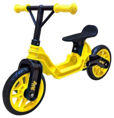 Беговел RT Hobby bike Magestic 10 желто-черный ОР503 hobby bike rt fly а