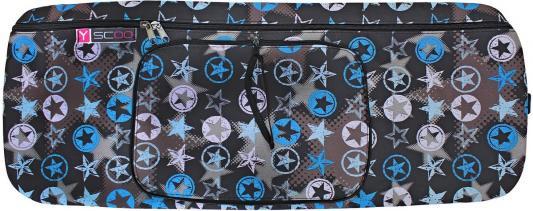 Чехол-портмоне Y-SCOO складной 145 Blue Star черный