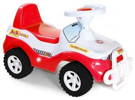 Каталка-машинка R-Toys Джипик Джипик красный от 8 месяцев пластик каталка orion toys каталка джипик полиция 105 пол