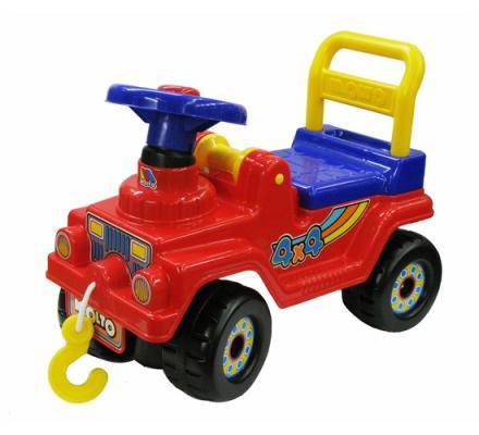 Каталка-машинка Molto Джип 4х4 - №2 красный от 2 лет пластик