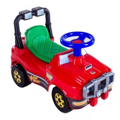 Каталка-машинка Molto Джип 62857 красный от 1 года все цены