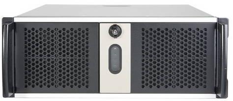Серверный корпус 4U Chenbro RM41300-F2-U3 Без БП чёрный