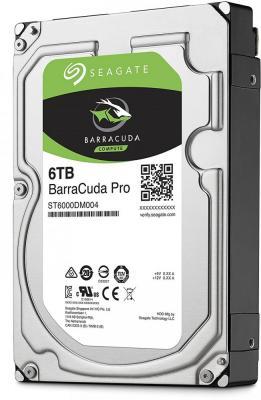 Жесткий диск 3.5 6 Tb 7200rpm 256Mb cache Seagate Barracuda Pro SATAIII ST6000DM004