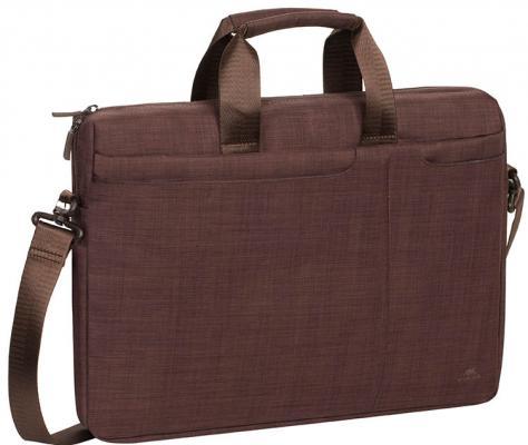 Сумка для ноутбука 15.6 Riva 8335 полиэстер коричневый