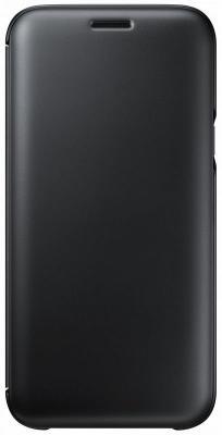Чехол Samsung EF-WJ530CBEGRU для Samsung Galaxy J5 2017 Wallet Cover черный чехол клип кейс samsung protective standing cover great для samsung galaxy note 8 темно синий [ef rn950cnegru]