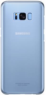 Чехол Samsung EF-QG950CLEGRU для Samsung Galaxy S8 Clear Cover голубой/прозрачный samsung ef bt715 book cover чехол для galaxy tab s2 8 0 black