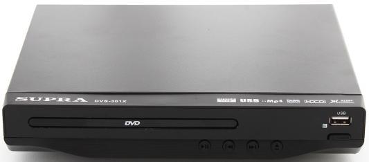 Проигрыватель DVD Supra DVS-301X черный проигрыватель dvd supra dvs 201x black